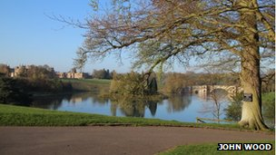 John Wood Blenheim Palace picture