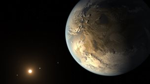 Artist's impression of Kepler 186f