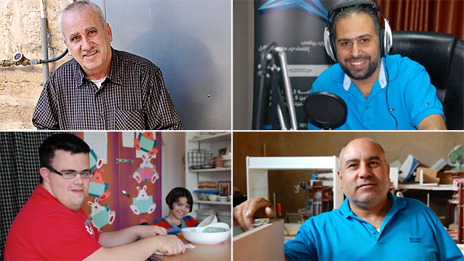 George Salameh, George Canawati, George Andoni, George Shomali