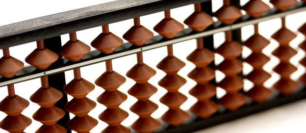 A Japanese abacus