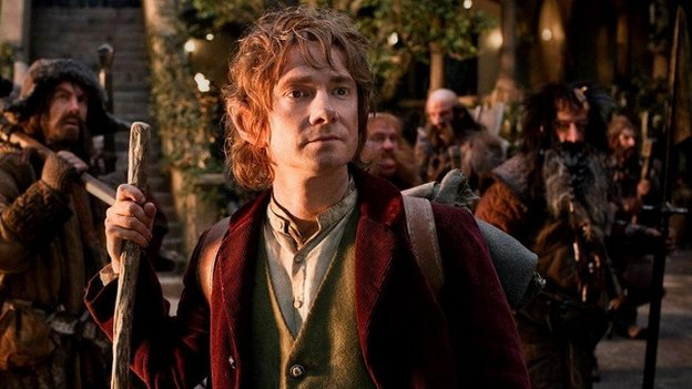 Martin Freeman in The Hobbit: An Unexpected Journey