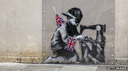 Banksy work