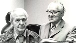 Henry Moore and Sir Robert Sainsbury