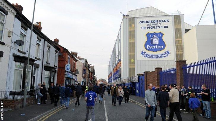 Goodison Park pre-match