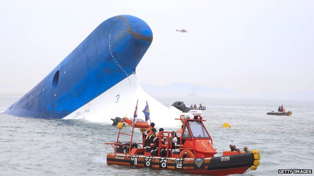 Search for S Korea ferry passengers