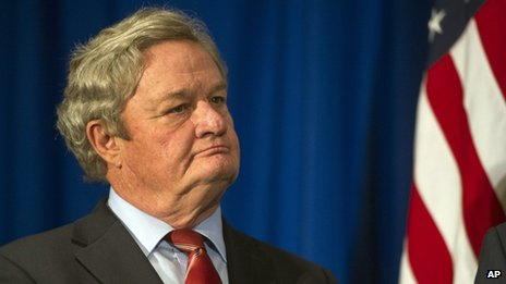 North Dakota Governor Jack Dalrymple appeared in Washington DC on 22 February 2014