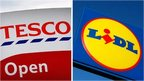 Tesco and Lidl sign