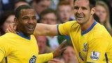Jason Puncheon and Scott Dann