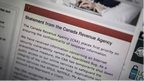 Canada Revenue Agency website