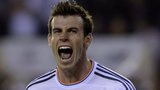Gareth Bale celebrates his goal for Real Madrid