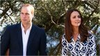 The Duke and Duchess of Cambridge in the Blue Mountains