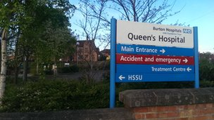 Queen's Hospital, Burton