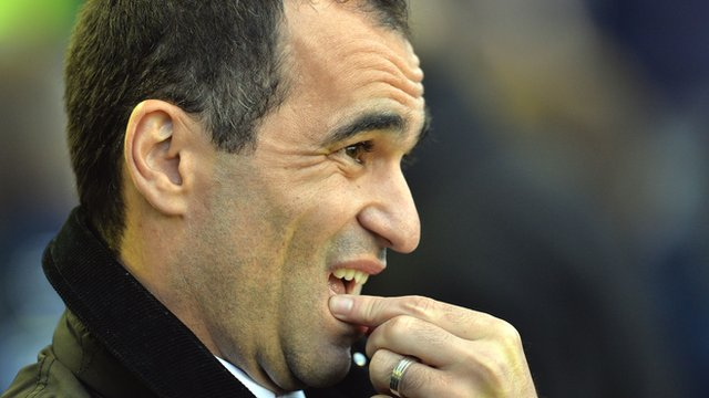 Roberto Martinez on 'hurtful' Everton defeat