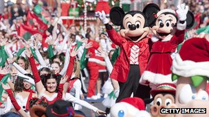 Disney Christmas Day Parade