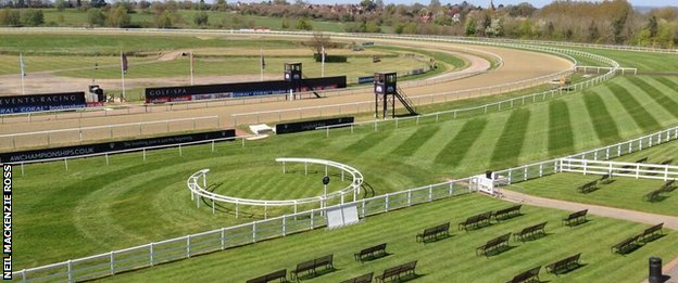 Lingfield ahead of its Good Friday fixture