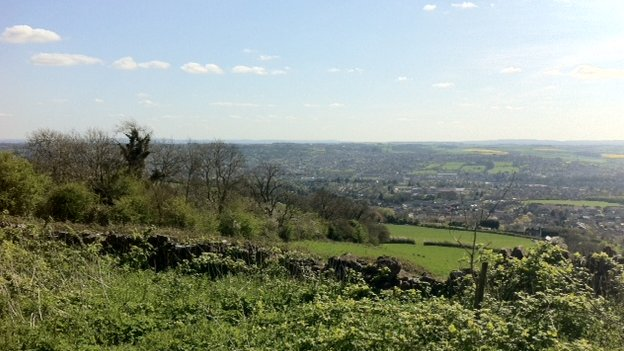 View from Lansdown Hill
