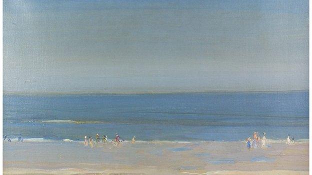 'Blue Sky and Summer, Runswick' by Mark Senio
