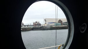 View from Radio Caroline