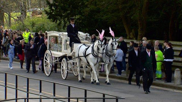 Funeral of Keane Wallis-Bennett