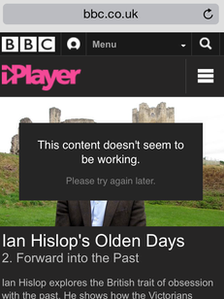 iPlayer website