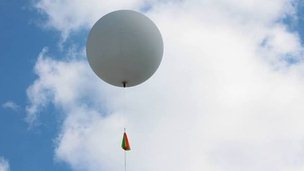 PhysNotts' high altitude balloon