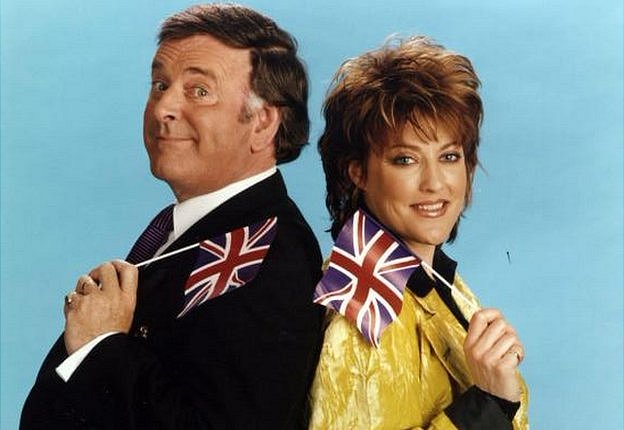 Terry Wogan and Katrina (without the Waves