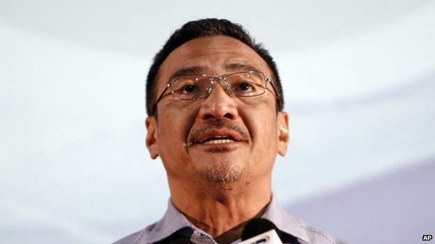 File photo: Malaysia's Acting Transport Minister Hishammuddin Hussein