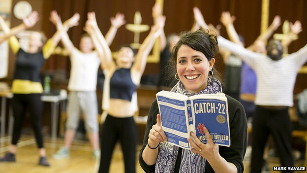 Catch 22 director Rachel Chavkin