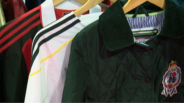 Bbc news police scotland donates fake designer clothes Replica designer clothes uk