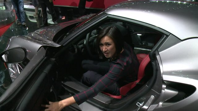 Michelle Fleury tries out the Alfa Romeo 4C