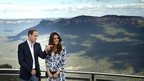 Kate and William at Echo Point