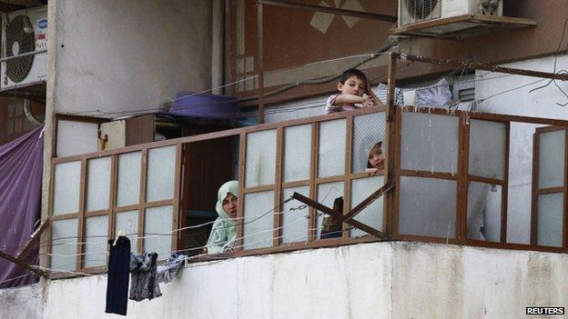 Family in Old Aleppo