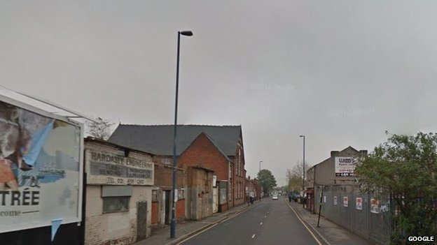 Icknield Street ran through modern-day Birmingham