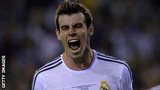 Gareth Bale scored the winner for Real Madrid in the Copa del Rey final