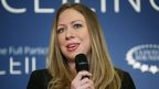 Chelsea Clinton appeared in New York on 17 April 2014