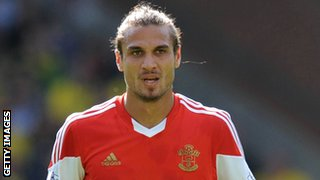 Osvaldo is Southampton's record signing at £12.8m