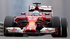 Ferrari's Fernando Alonso was fastest in first practice in China