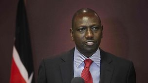Deputy Kenyan President William Ruto