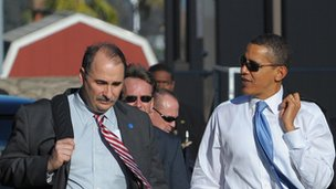 Axelrod and Obama