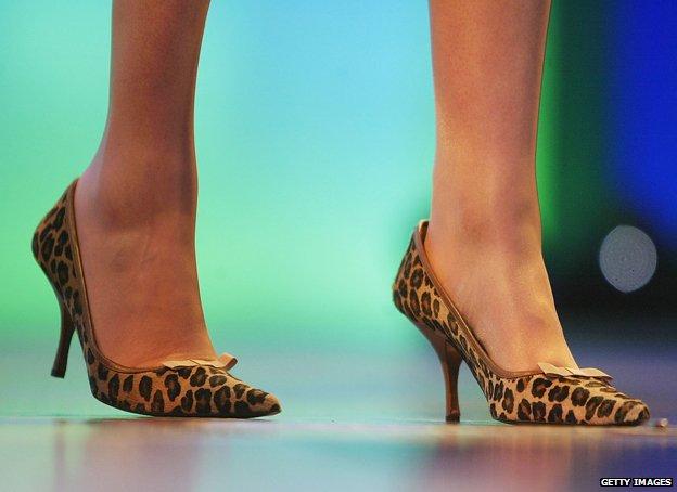 Theresa May heels