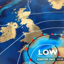 Easter Day forecast