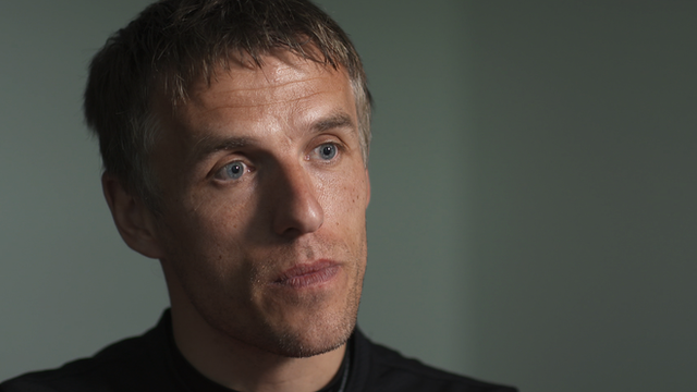 "Manchester United first-team coach Phil Neville tells Football Focus the team have ""failed on the pitch"" this season."