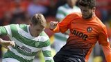Celtic's Kris Commons and Dundee United's Nadir Ciftci