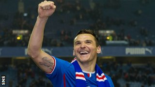 Rangers captain Lee McCulloch
