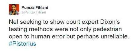 Pumza Fihlani tweet