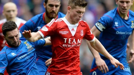 Caley Thistle face Aberdeen
