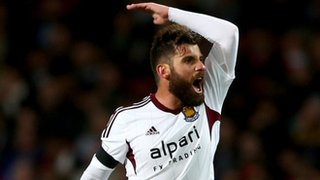 On-loan West Ham midfielder Antonio Nocerino