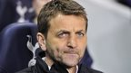 Tottenham manager Tim Sherwood