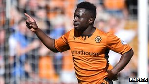 Wolves striker Nouha Dicko