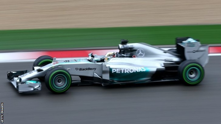 Chinese GP Hamilton